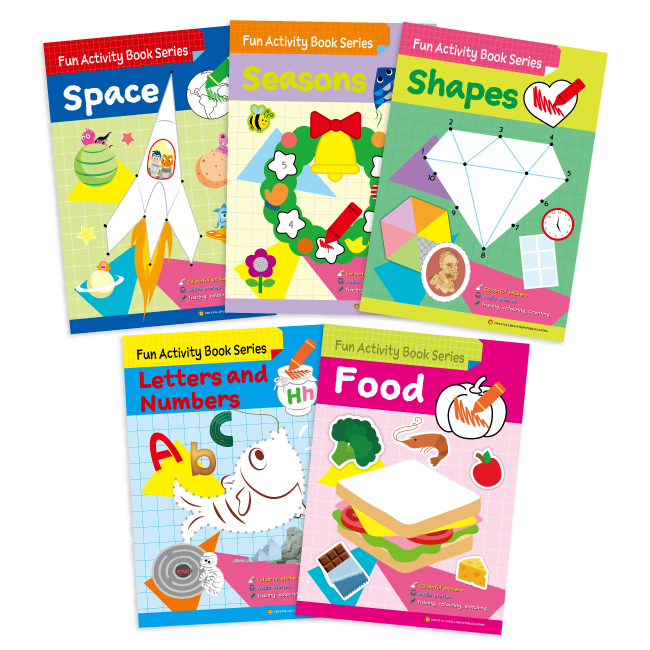 Fun Activity Book Series (5 books)
